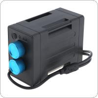 EB03 Portable Waterproof IP67 Battery Case Box with USB Interface Support 6 x 18650 Battery for Bicycle LED Light