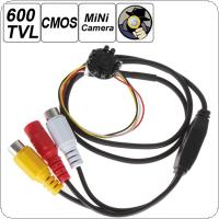 600TVL HD 1280 x 960 1/3 Inch CMOS Sensor Night Vision Mini Camera with 8 IR Lights