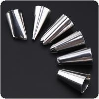 8pcs/set Stainless Steel Set Decoration Mouth with Converter and PEVA Pipe Bag  for Making Cakes / cookies / chocolate