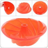 Single Whirlpool Hurricane Silicone Cake Mold DIY 3D Shaped Silicone Fondant Cake Decoration Moulds Chocolate Baking Tool