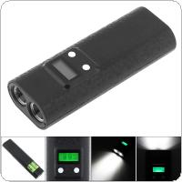 PowerBank Battery Charger with Dual USB LCD Capacity Display Support Flashlight Lighting Function for Li-ion 18650 Rechargeable Battery