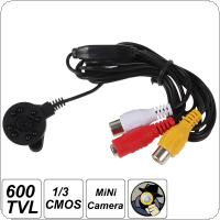 XL-L1523CP4 HD 1280 x 960 600TVL 1/3 Inch CMOS Sensor Night Vision Mini Camera with 8 IR Lights