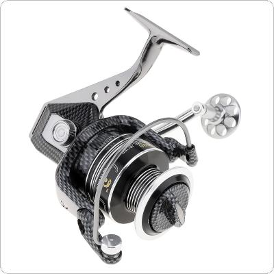 5000 Series 12+1BB 5.5:1 Full Metal Spinning Fishing Reel Max Drag 15KG / 33LB with Double Color Full Metal Line Cup