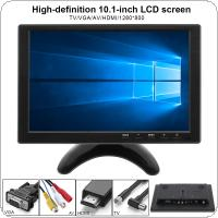 10.1 Inch Multifunction HD Car Headrest Monitor TFT LCD HD Digital Screen support HDMI / VGA / AV / USB / TV