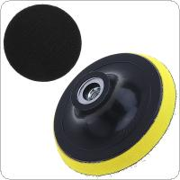 4 Inch Electric Suction Pad Self-adhesive Sandpaper Disc with Threaded Hole for Automotive / Metal Polishing