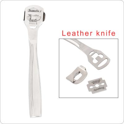 Stainless Steel Leathercraft Skiving Tool for Thinning Leather Tools