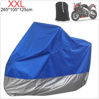 XXL 180T Universal Motorcycle Cover UV Protector Waterproof Rain Dustproof Anti-theft Motor Scooter Covers