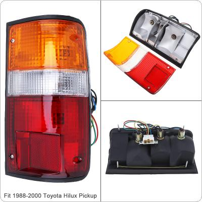 Waterproof Durable Rear Brake Lamps Outer Right Driver-side Tail Light Right for 1988-2000 Toyota Pickup
