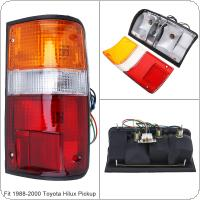 Waterproof Durable Rear Brake Lamps Outer Right Side Tail Light Right Fit for 1988-2000 Toyota Pickup