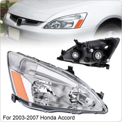 Waterproof Durable Driver Side / Right Side Headlight for 2003-2007 Honda Accord