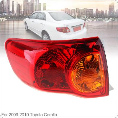 Waterproof Durable Rear Brake Lamps Outer Left Passenger-side Tail Left Light for 2008 2009 2010 Toyota Corolla