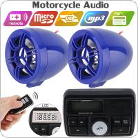 12V 50W Waterproof Anti-theft Sound MP3 Player with Display Screen for Motorcycle and Electric Vehicle
