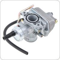 PZ20mm 29mm Straight Tube Motorcycle Carburetor with Black Hose for 50cc 70cc 90cc 110cc  Gas ATV Go Karts