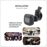 M3 Universal Wireless Motorcycle TPMS Tire Pressure Monitoring System with 2 External Sensors