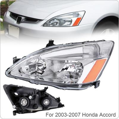 1Pcs Waterproof Durable Left Side Headlight Fit for 2003-2007 Honda Accord