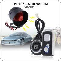 Universal Car Alarm System Remote Start Stop Engine System with Auto Central Lock and Keyless Entry  5A with Key 1