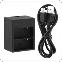 3.7V USB Dual Charger with Intelligent Fast Charging for AHDBT-201 / AHDBT-301 Camera Battery