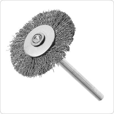 Mini Polishing Steel Wire Brush with Handle and 25T Type for Cleaning / Grinding / Polished