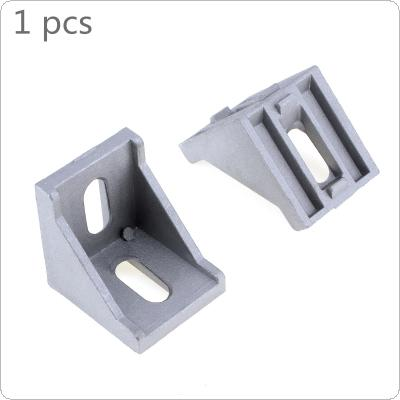 4040 Aluminum Angle Code with Nut Hole Support T-slot Profile Frame Extrusion Bracket for Connecting The Flow Profile