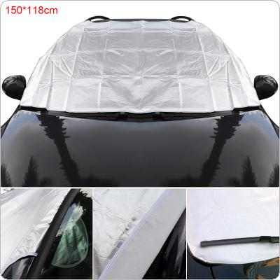 M Universal Thick Front Windshield Double-sided Availability Aluminum Foil Composite Cotton Ice / Snow / Frost / Fog / Haze / Sun Protection Car Clothing Cover