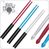 5A Aluminium Alloy Drum Sticks for Jazz Drum and Dumb Drum Pad Practicing Strength Endurance Exercises with 3 Colors Optional
