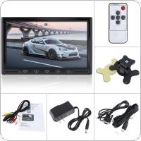 10.1 Inch 16:9 HD 1024*600 TFT LCD Color Car Rear View Monitor 2 Video Input DVD VCD Headrest Vehicle Monitor Support Audio Video HDMI VGA
