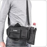 Oxford Cloth Multifunctional Fishing Tackle Bag Sports Shoulder Bag Cross Body Bags Waterproof Waist Bag