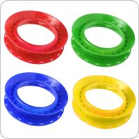 High Strength Plastic Fishing Line Winding Board Outer Diameter 24cm Trace Wire Swivel Tackle