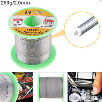 60/40 B-1 250g 2.0mm No-clean Rosin Core Solder Wire with 2.0% Flux and Low Melting Point for Electric Soldering Iron
