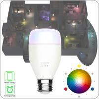 7W 100-240V Voice Smart Light Bulb LED Mobile Phone WIFI with Remote Control and Time Switch Energy Saving Dimming Bulb Light Smart Home