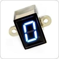 Universal  Blue Color Digital Gear Indicator Motorcycle Light Neutral Display Shift Lever Sensor
