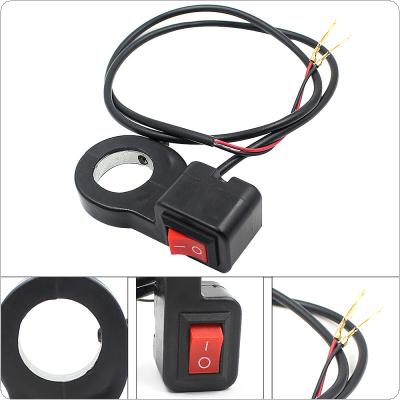Universal Waterproof Motorcycle Handlebar Switch ON-OFF Button LED Headlight Scooter Switch for Motorcycle