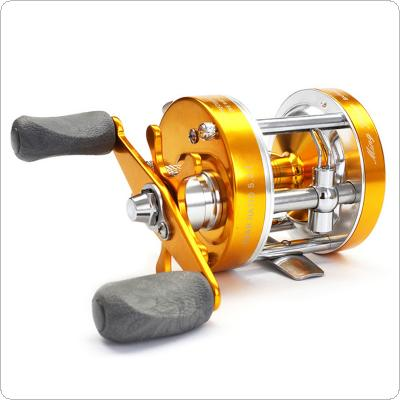 Full Metal Drum Fishing Reel Centrifugal Mechanical Dual Braking System 2+1BB 40# 5.2:1 Trolling Casting Boat Wheel Left Right Hand Optional
