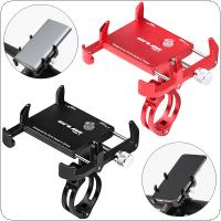 Bicycle Motorcycle Electrombile Phone Holder 6 Claw Mount Bracket Handlebar Anti-Slip Clip Stand Support Power Bank and 3.5-6.2inch Phone