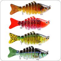 10cm 15g 7 Segments Fishing Wobblers Swimbait Crankbait Fishing Lure Bait with 6# Hooks 4 Colors Optional