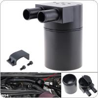 Black Aluminum Alloy Car Refit Oil Pot Engine Modified Breathable Oil Recovery Bucket Car Styling for N54 335i 535i