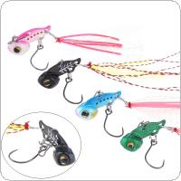 Mini VIB Lead Copper Metal Fishing Lure 3g Hard Wobbler Carp Bait 4 Colors Optional