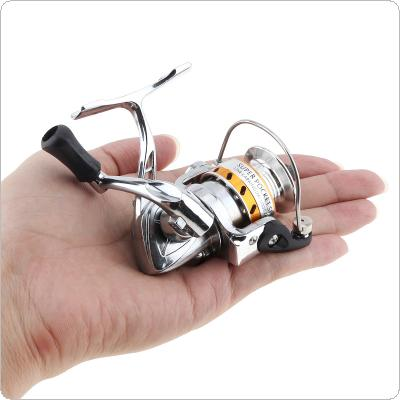 Mini Fishing Reel Palm Size Zinc Alloy Coil Poket Small Spinning Reel for Ice / Pen Fishing Rod