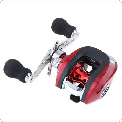 17+1BB 6.3:1 Gear Ratio Fishing Bait Casting Reel Braking Force 8KG / 17.6LB with Right Left Hand Optional