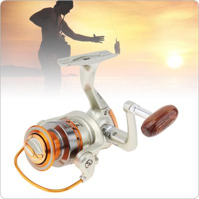 Mini Fishing Reel Palm Size Metal Coil Poket Small Spinning Reel for Boat Raft Ice Fishing Rod