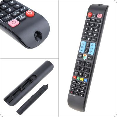 AA59-00652A Remote Control with Backlight Button Support 2 x AAA Batteries for Samsung TV / Smart TV / 3D LED / HDTV