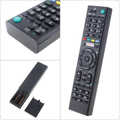 RMTTX200E Intelligent Replacement TV Remote Control Support 2 x AAA Batteries with Long Transmission Distance for Sony LED 3D Smart TV