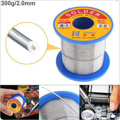 63/37 B-1 300g 2.0mm No-clean Rosin Core Solder Wire with 2.0% Flux and Low Melting Point for Electric Soldering Iron