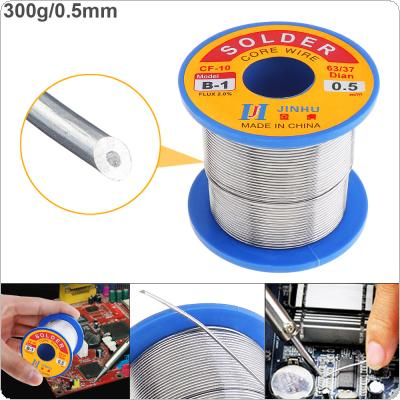 63/37 B-1 300g 0.5mm No-clean Rosin Core Solder Wire with 2.0% Flux and Low Melting Point for Electric Soldering Iron