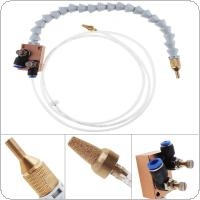 Mist Coolant Lubrication Spray System with Double Throttle and 8mm Air Pipe for Metal Cutting Engraving Cooling Machine