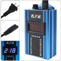 80KW 110V-220V Smart Power Saver Household Meter Electricity Saving Box with Electronic Screen Display for Family / School / Factory