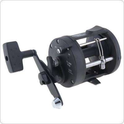 Black Drum Fishing Reel 4000 Series Gear Ratio 3.8:1 Trolling Wheel Casting Boat Sea Fishing Reel