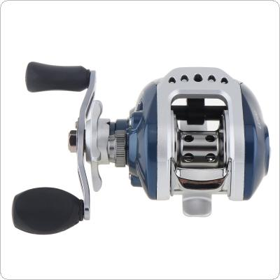 10+1BB 6.3:1 Gear Ratio Fishing Bait Casting Reel Braking Force 4KG / 8.8LB with Right Left Hand Optional