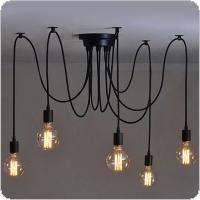 1 Head Heavenly Female Chandelier Soft Lighting with Suction Cup and 2 Meters Cable for Lighting Decoration