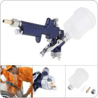 Mini Handle H-2000 Aluminum Alloy Pneumatic Spray Gun with 1.0mm Diameter Nozzle for Furniture / Car Painting